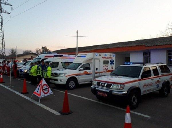تصادف زنجیره ای در اتوبان قم گرمسار، یک کشته و 11 نفر مصدوم