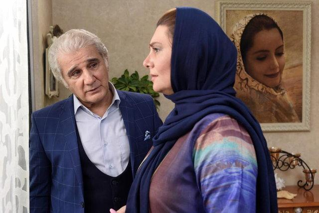 مهدی هاشمی و هنگامه قاضیانی در یک فیلم