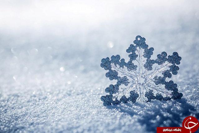 برف چیست؟ ، برف واقعا چه رنگی است؟