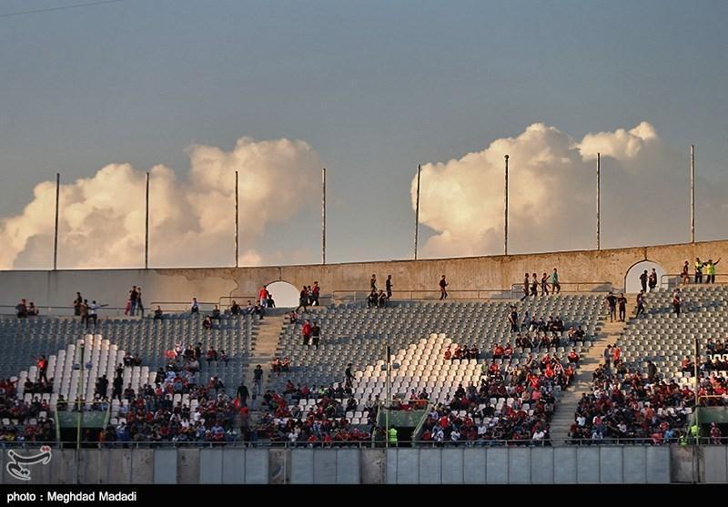 حاشیه دیدار پرسپولیس - کاشیما آنتلرز، درهای استادیوم آزادی باز شد
