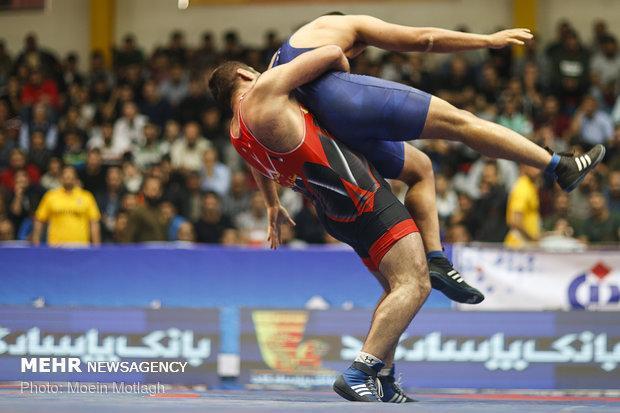 خوزستان قهرمان مسابقات کشتی فرنگی بزرگسالان کشور شد