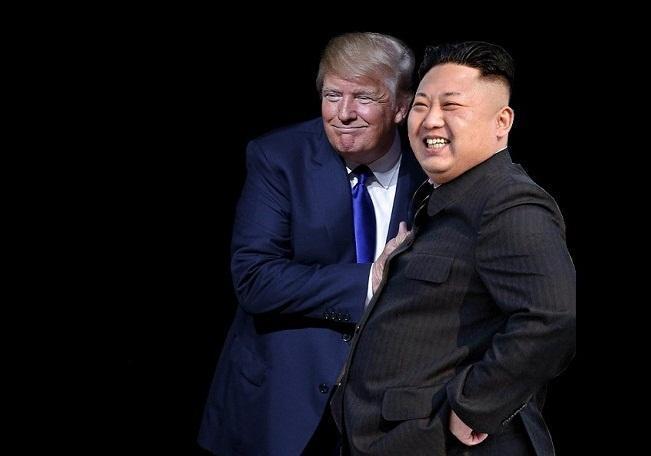 ترامپ: کیم به من گفت بایدن یک احمق کم هوش است