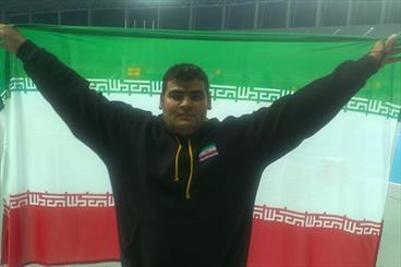 هفدهمین طلای ایران از دوومیدانی بدست آمد، محمدیان قهرمان شد