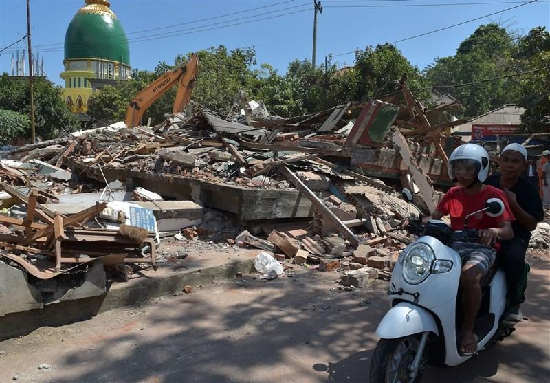 زمین لرزه سوم در اندونزی؛ کشته ها به بالای 300 نفر رسید
