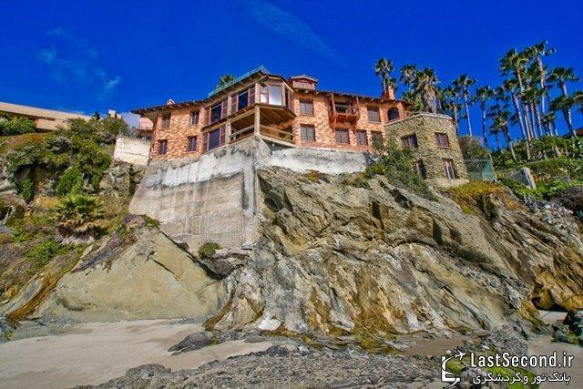عمارت 30 میلیارد تومانی بر فراز صخره های کالیفرنیا