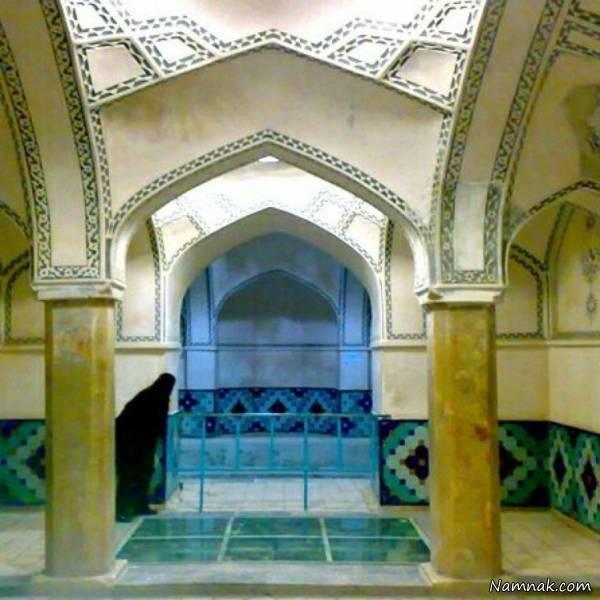 تاریخچه و جاذبه و گردشگری حمام فین کاشان