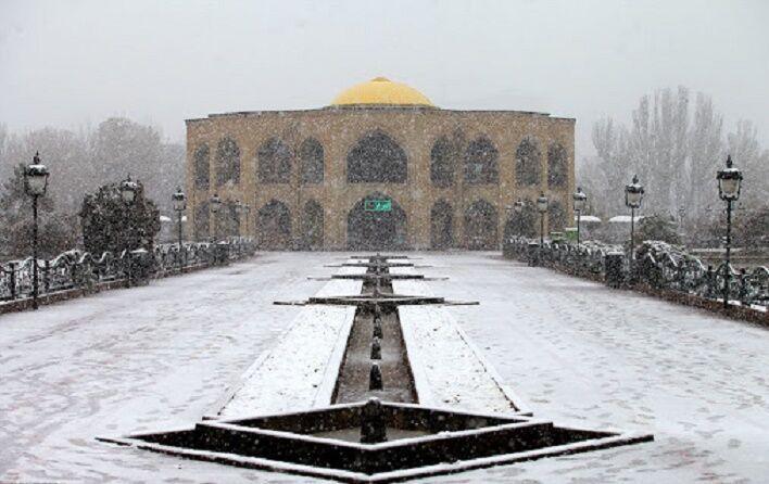 خبرنگاران هوای آذربایجان شرقی زمستانی شد