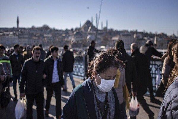بیشترین مبتلایان به کرونا روز شنبه در ترکیه ثبت شد