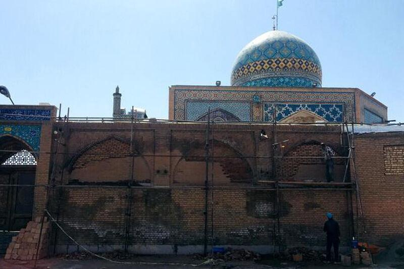 خبرنگاران بازسازی بقعه امامزاده حسین(ع) از هفته آینده شروع گردد
