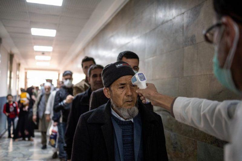 هشدار شیوع کرونا در افغانستان
