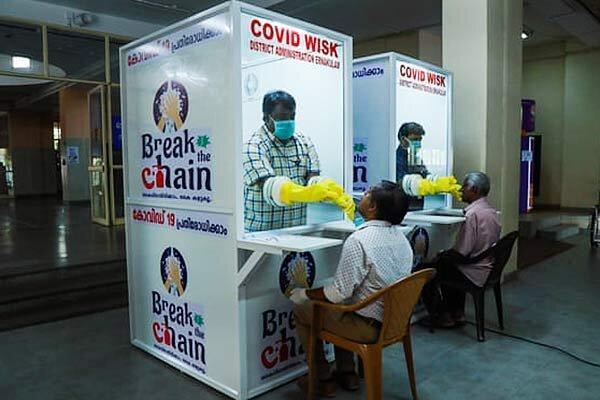 تجربه کمونیستی در مقابله با کرونا ، ایالت کرالا در هند