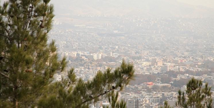 کیفیت هوای تهران به مرز آلودگی رسید