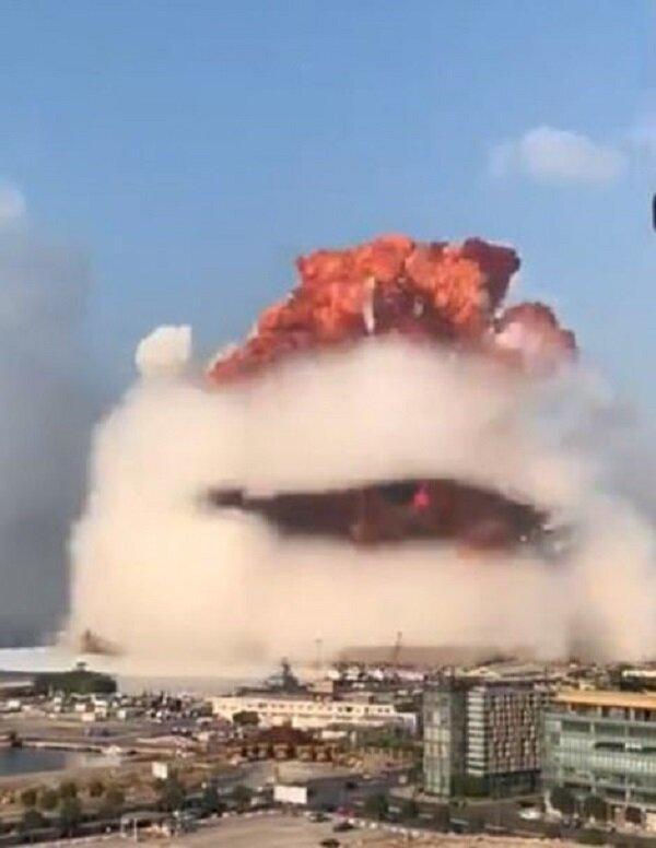 کارشناس ایتالیایی: انفجار بیروت ناشی از بمب بوده است