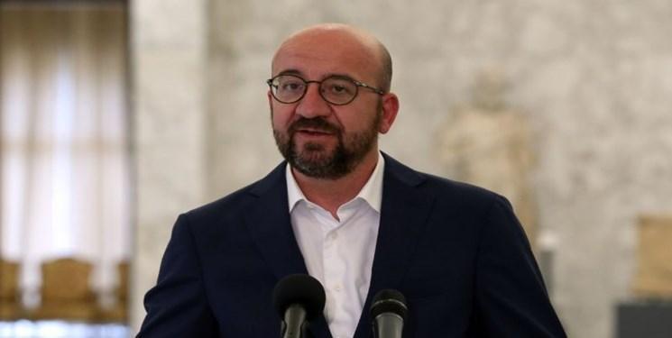 وعده رئیس شورای اتحادیه اروپا به یاری در بازسازی لبنان
