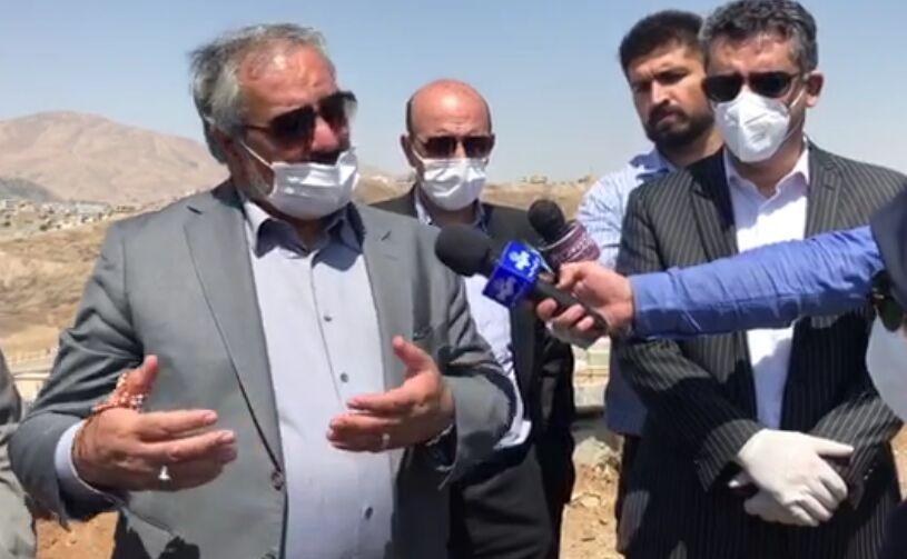 خبرنگاران استاندار کردستان: اراضی کوچکه ره ش مرکز تحقیقات گل و گیاه می گردد