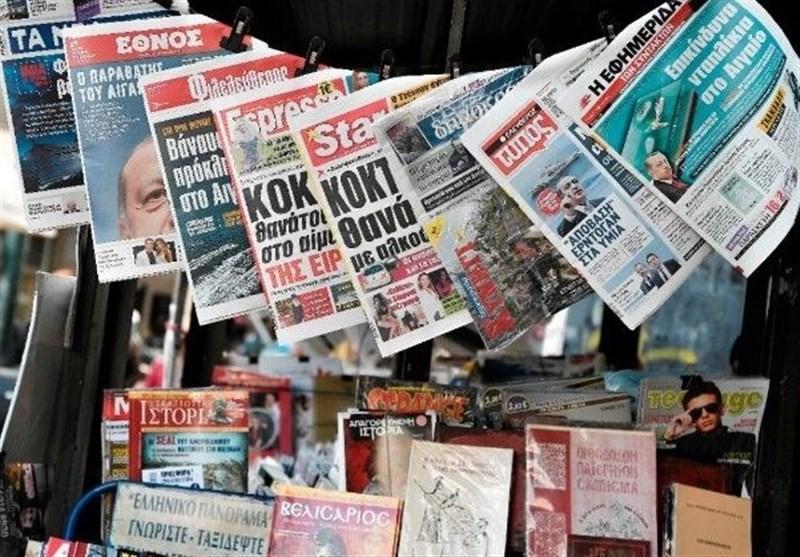 نشریات ترکیه، نخستین سفر خارجی اردوغان پس از 4 ماه، مرکل: تنش بین ترکیه و فرانسه٬ جدی است