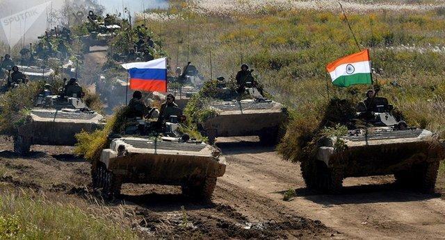 وزارت دفاع هند خروج از مانور قفقاز 2020 با روسیه را تایید کرد
