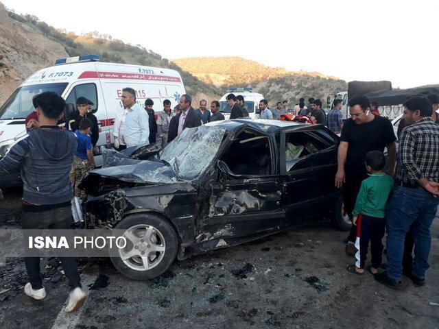 وقوع بیشترین تصادفات جاده ای کهگیلویه و بویراحمد در محوریاسوج- اصفهان
