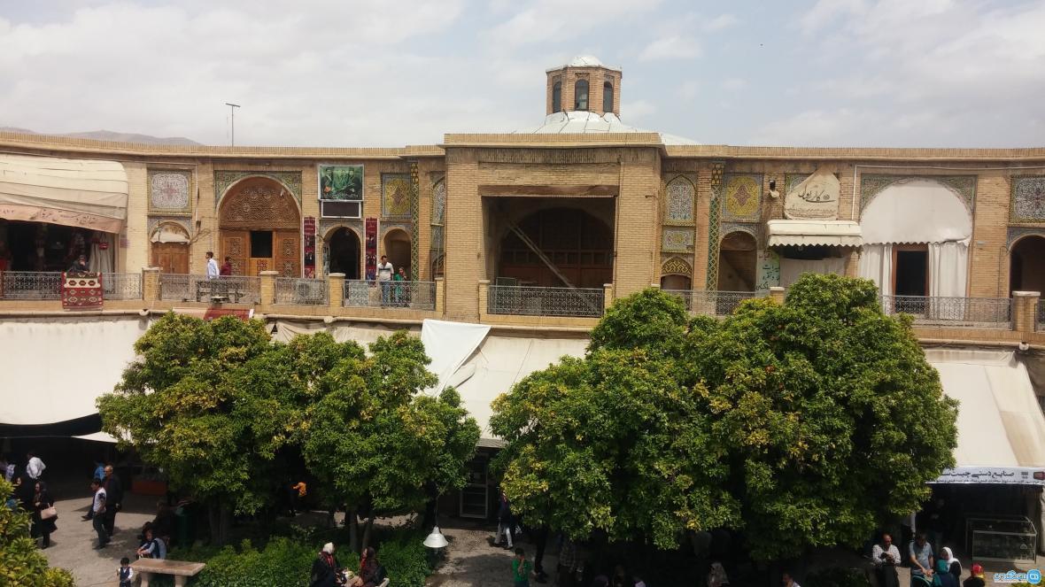 سرای مشیر در شیراز؛ دیدنی حیرت انگیز و تاریخی