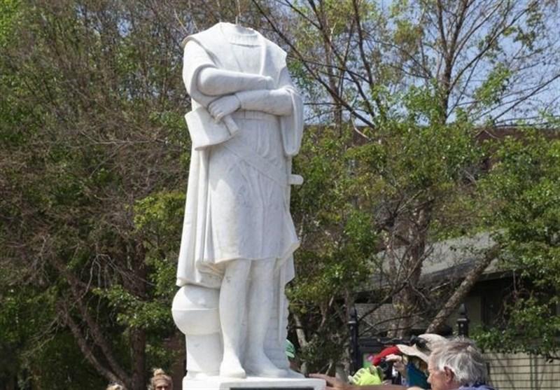 یک شهر دیگر آمریکا خواهان برچیده شدن مجسمه کریستوف کلمب شد
