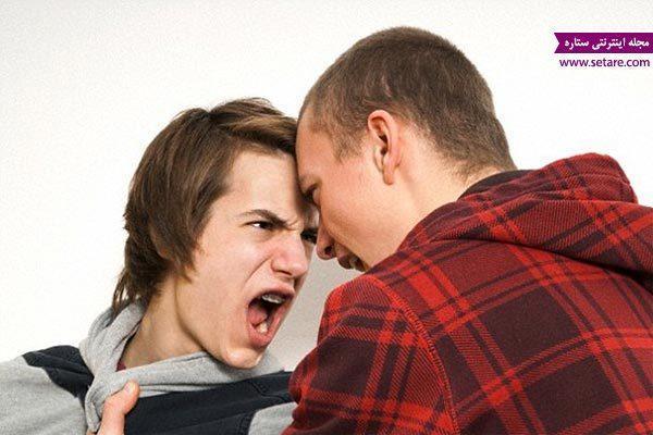 با پرخاشگری در نوجوانان چگونه باید برخورد کرد؟