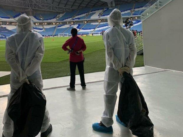 دنیای بدون زباله در استادیوم های لیگ قهرمانان آسیا