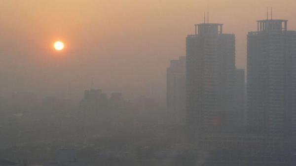 آلودگی هوا در تهران اوج گرفت