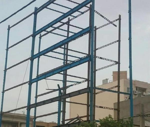 حکایت فروریزش اسکلت فلزی سازه نیمه کاره و ربط آن به زلزله تهران