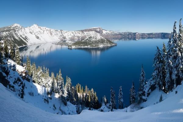 سفر به آمریکا: اورگن عمیق ترین دریاچه