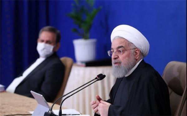 تاکید روحانی بر توسعه روابط ایران و غنا