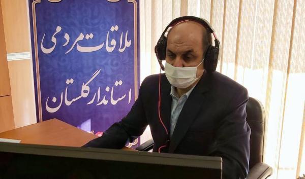 خبرنگاران استاندار گلستان با حضور در سامد به مسائل مردم رسیدگی کرد