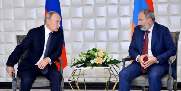تاکید پوتین و پاشینیان بر تبادل سریع اسرای جنگی بین باکو و ایروان
