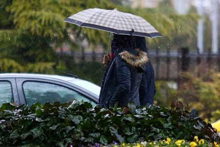 بارش باران در 21 استان ، کاهش دما در سواحل خزر