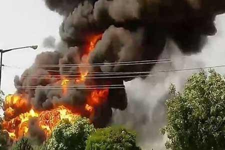 انفجار منزل مسکونی در شهرک ولیعصر (عج) ، 4 نفر راهی بیمارستان شدند