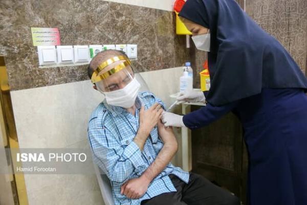 شکسته شدن رکورد تزریق واکسن کووید در کاشان